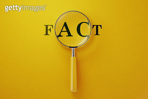 Magnifier and Yellow Background