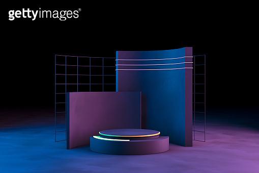 3D Scene Geometric Shapes