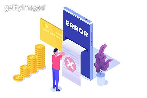 Error info message