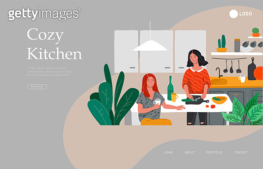 Landing page template - Daily life