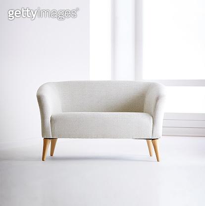 Shot of casual sofa