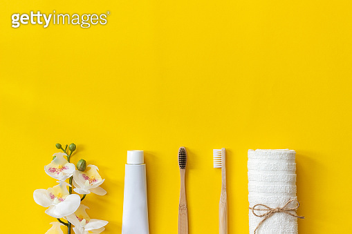 Eco-friendly bamboo brushses