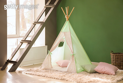 Cozy play tent for kids