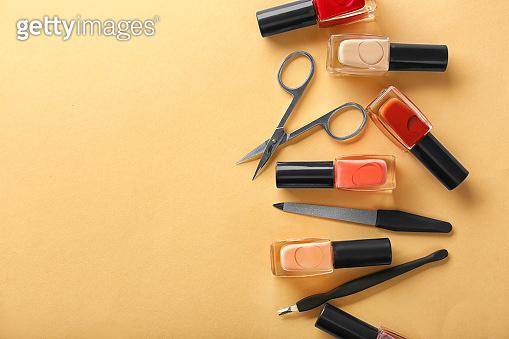 Nail polishes and tools