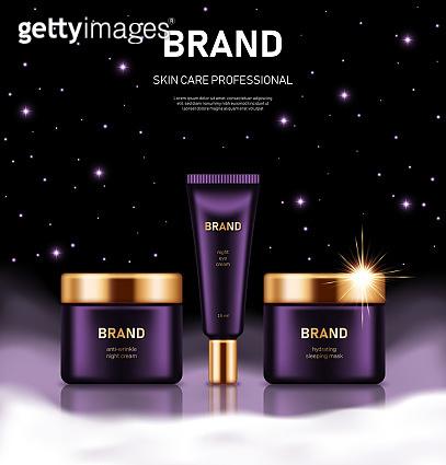 Cosmetics background