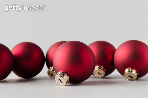 Matte Christmas balls