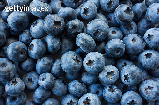 Mix berries and fruits
