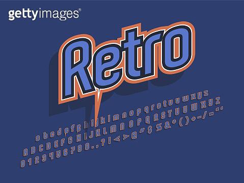 Style typo - Retro