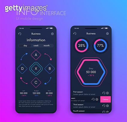 Mobile infographics