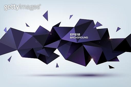 Geometric 3d shape