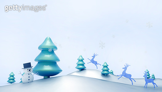 Christmas New Year 3D