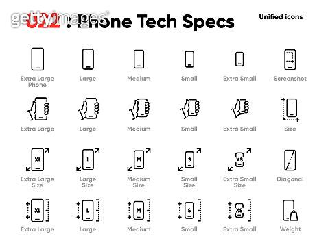 Editable stroke icons