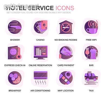 Modern Icon set 12