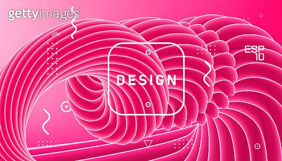 Geometric wavy minimal background