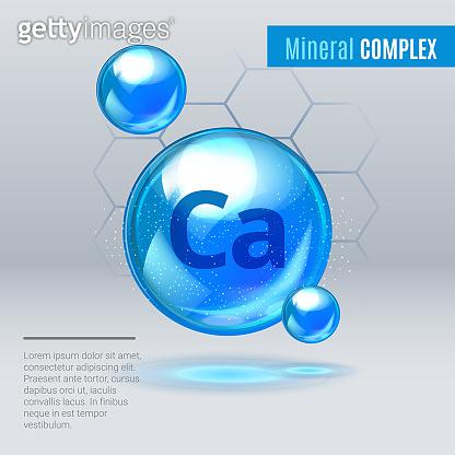 Mineral, vitamin pill capcule