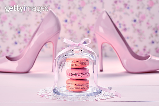 Woman accessories, fashion high heels