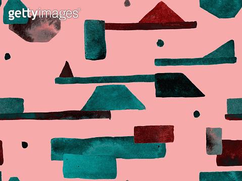 Bauhaus Seamless Pattern