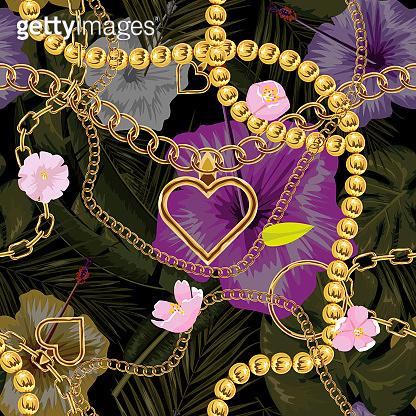 Cute chain pattern