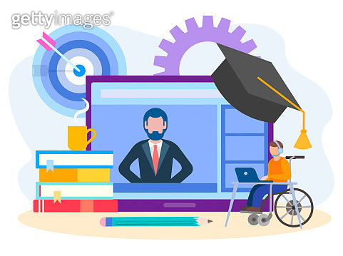 Business, education on the internet
