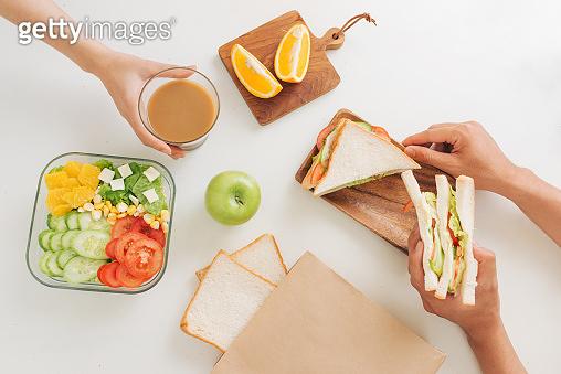 샌드위치 만들기