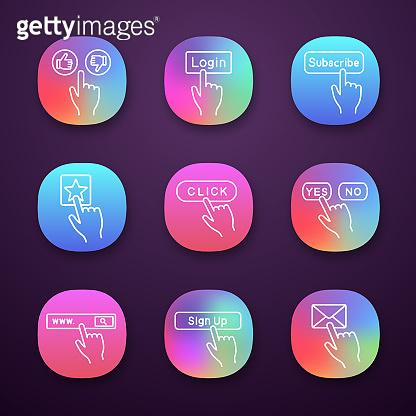 Click app icons set