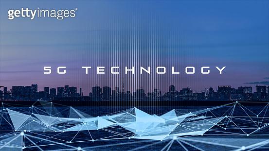 5G technology concept