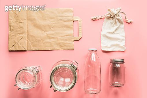 Zero waste storage and shopping