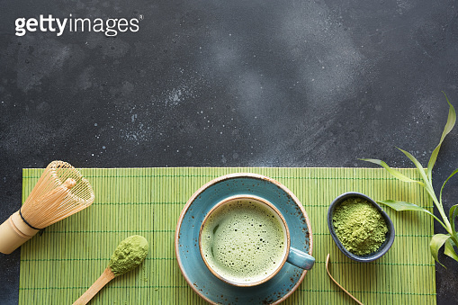 Matcha powder green tea