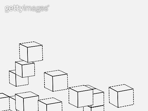 line cube