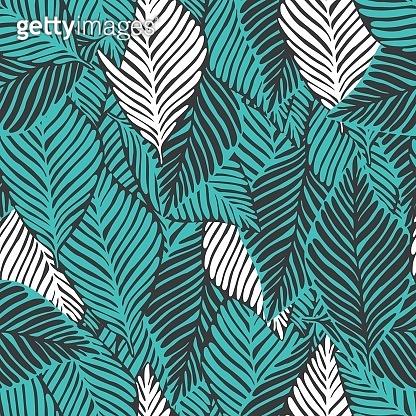 Fresh tropical pattern