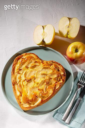 Homemade fresh baked Apple pie