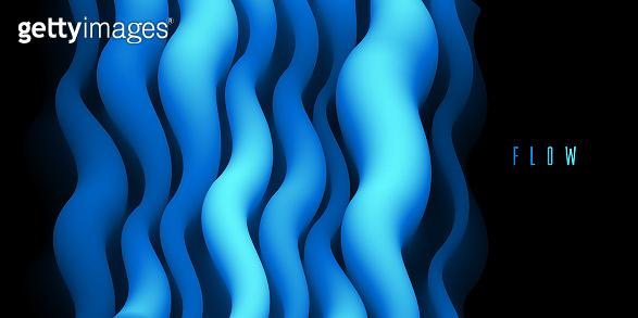 Dimensional gradient shape element
