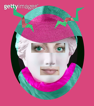 Contemporary art poster