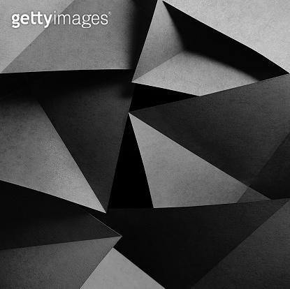 Geometric shapes of paper