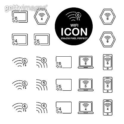 Commerce Line icon set