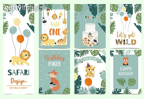 Safari animal illustration