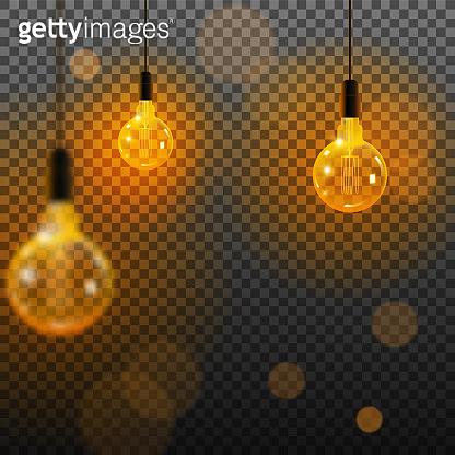 Lights realistic elements