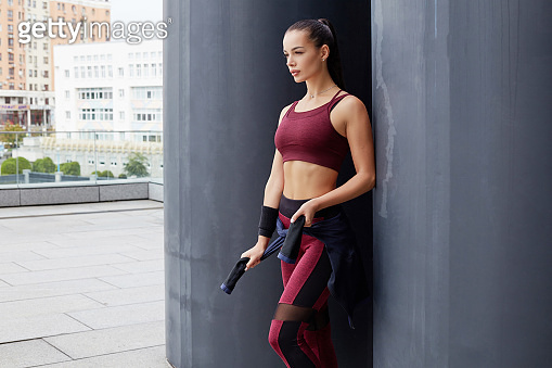 Fitness sporty woman