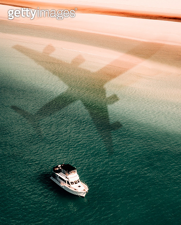 Aerial view in australia