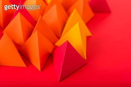 Hot pyramids