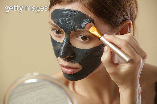 Home spa cosmetic concept