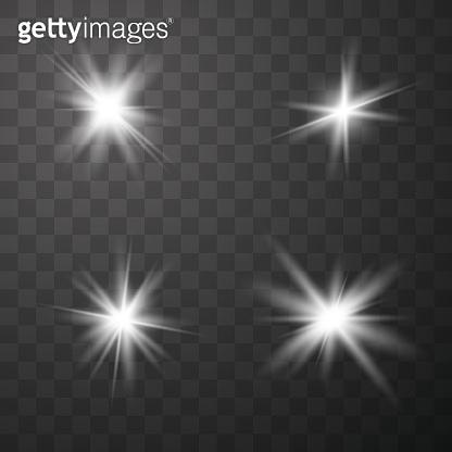 Glowing lights effect