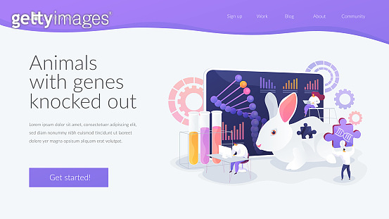 Genetic concept landing page
