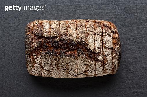 Sliced wholegrain bread