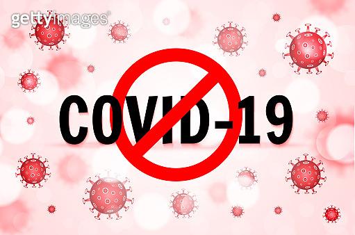 코로나 바이러스 백그라운드