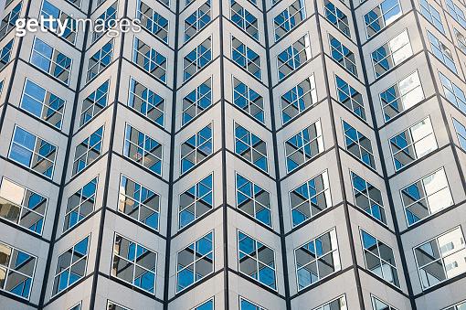 빌딩 창문 패턴
