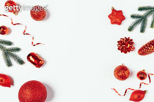 크리스마스 데코레이션 백그라운드