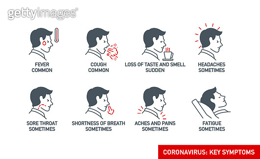 코로나 징후 및 증상