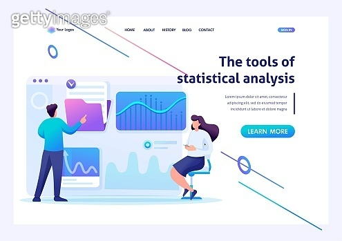 Landing page concepts