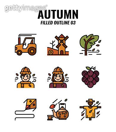 가을 아이콘